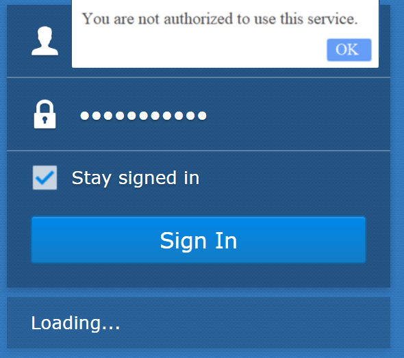 What should I do if I cannot sign in to my DSM account