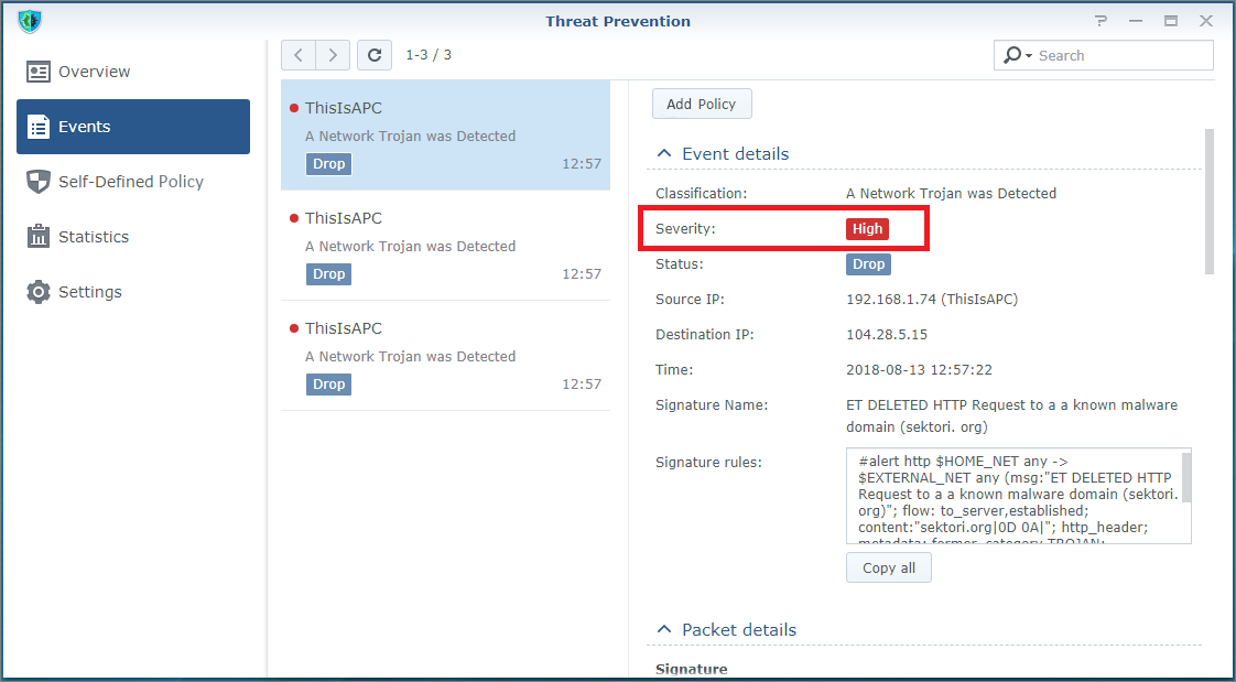 How Do I Monitor Threat Prevention Events to Avoid Attacks