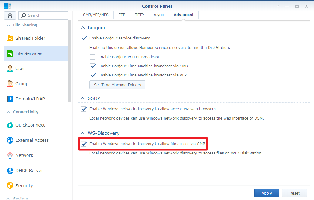 What can I do if my Synology NAS does not show up in Network