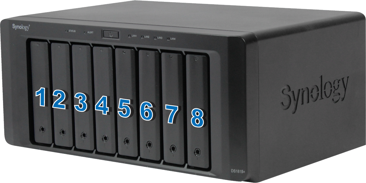 Driver for Synology DS408 NAS