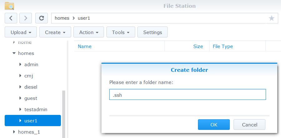 Přístup k souborům na zařízení Synology NAS pomocí služby