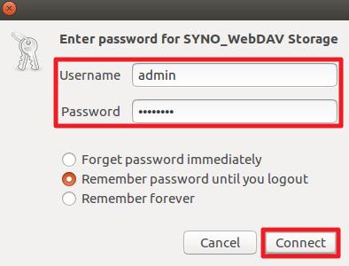 login-dav-on-ubuntu