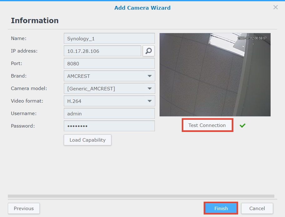 How to add a camera on a different network segment to Surveillance
