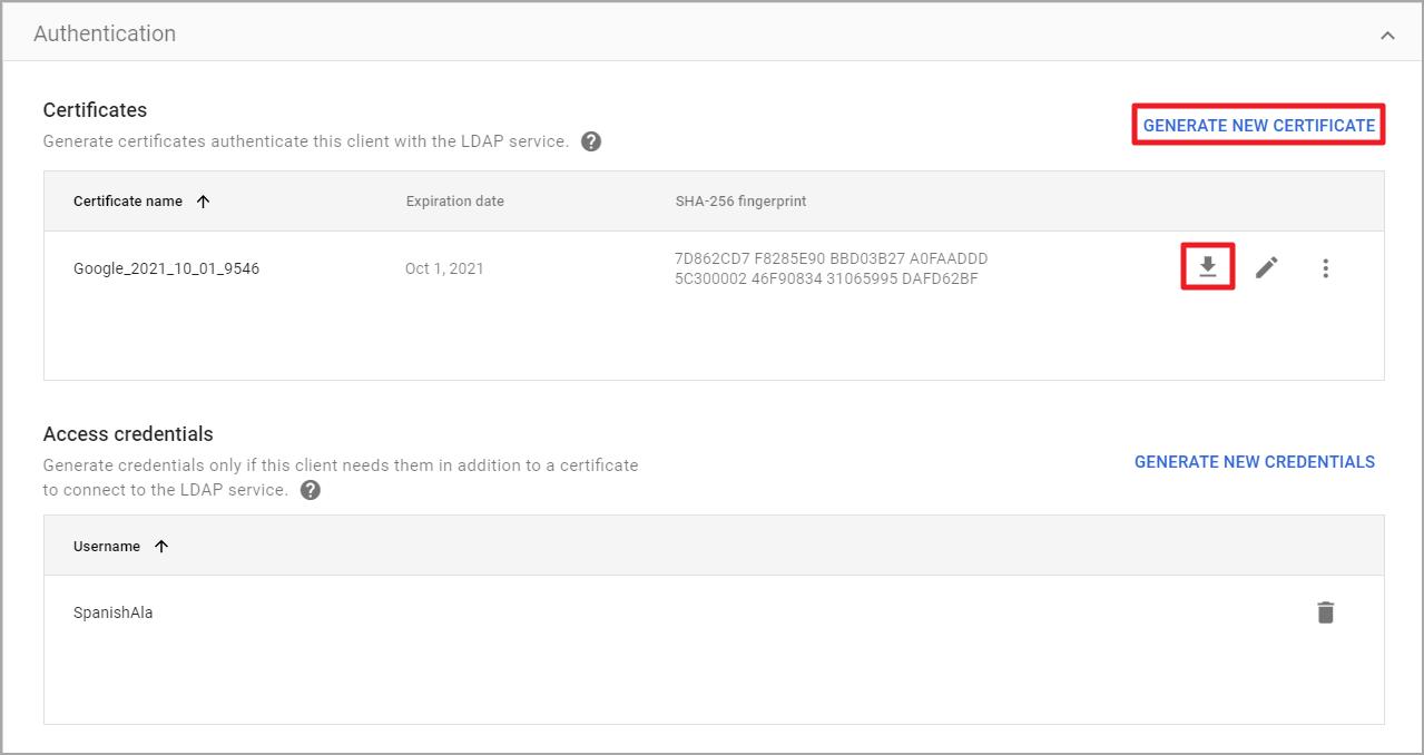 Synology NAS를 Google 보안 LDAP에 가입하는 방법 | Synology Inc