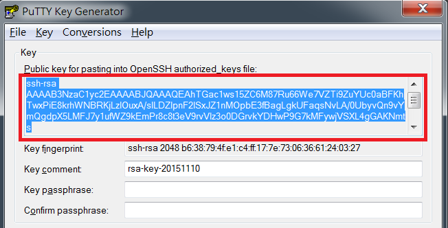 How to log in to DSM with key pairs as admin or root permission via