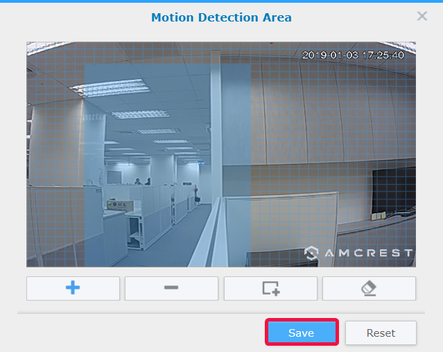 How to set up Motion Detection in Recording Settings and receive