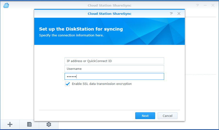 How to sync data between multiple Synology NAS via Cloud