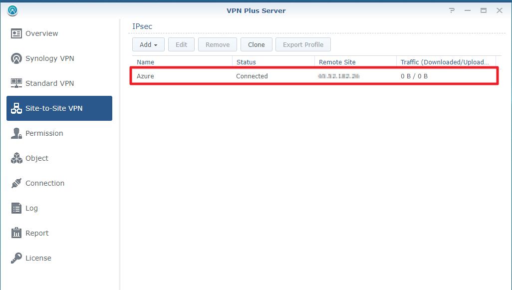 Cómo configurar Site-to-Site VPN entre Synology Router y