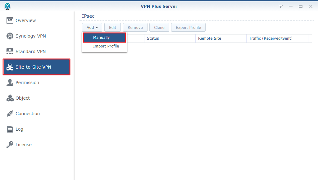 How to set up Site-to-Site VPN between Synology Router and