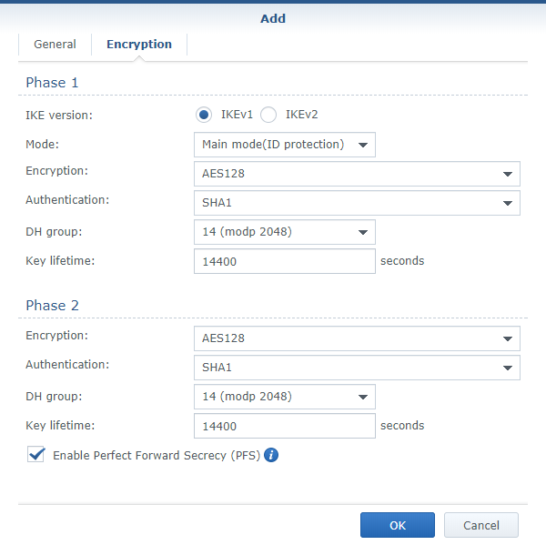 Configuring vpn unifi