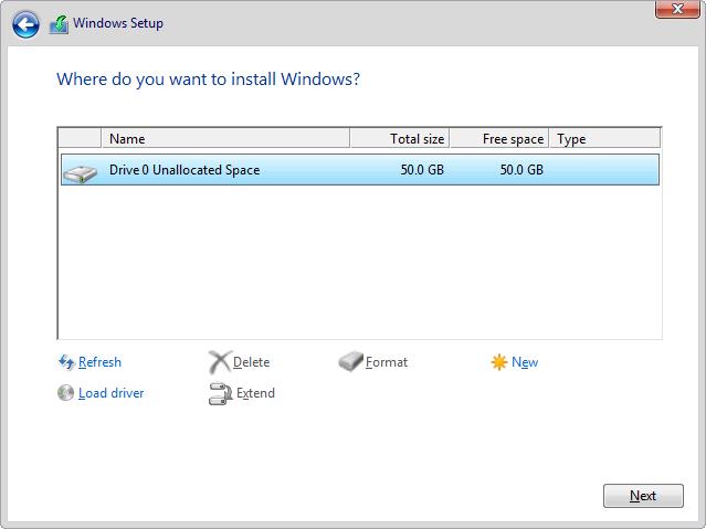 How to load VirtIO storage driver for Windows Setup on Virtual