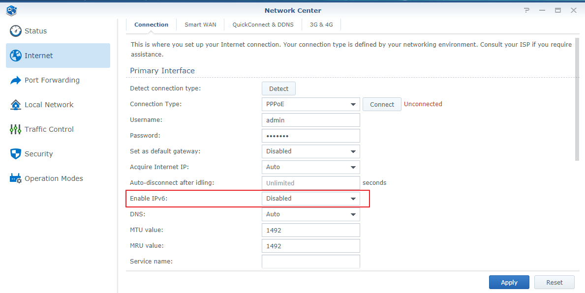 What should I do if I cannot access my Synology device via