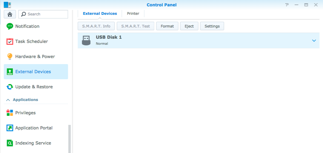 Why doesn't my USB device work on my Synology NAS