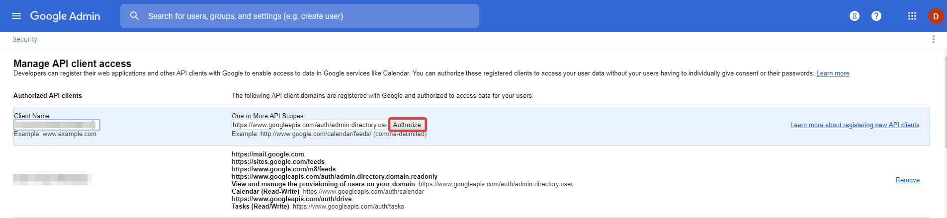 How to obtain authorization from Google for using Active