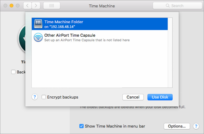 how do i if time machine is backing up