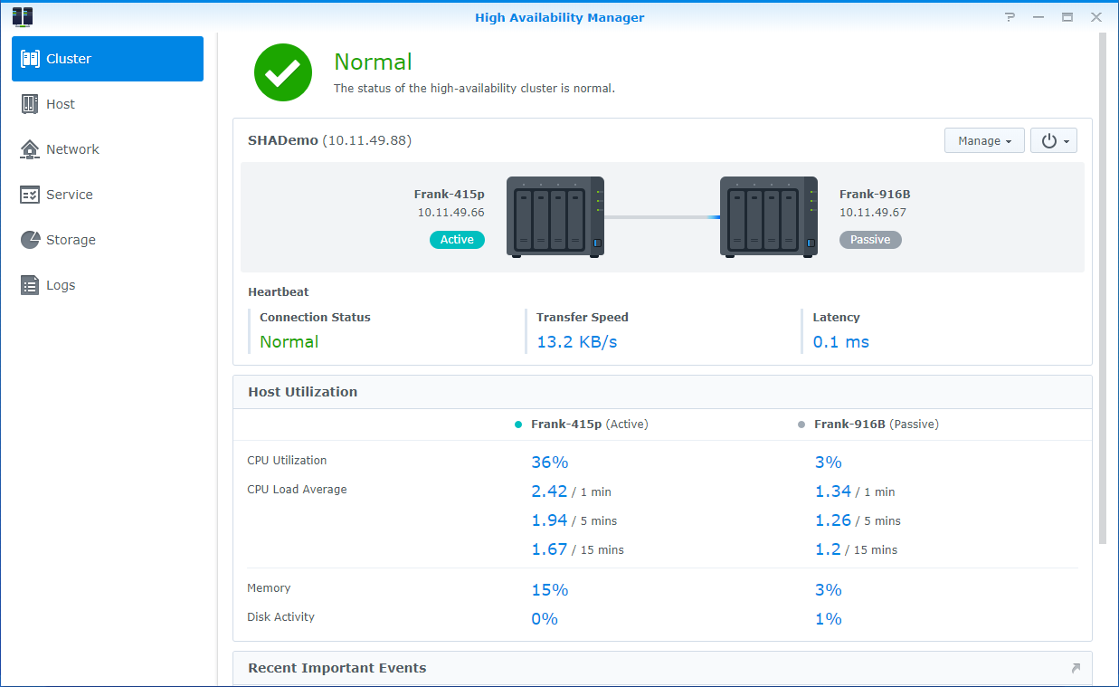 How to create a high-availability configuration with