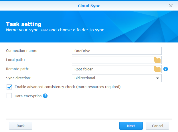 How to back up the data on your Synology NAS to the public