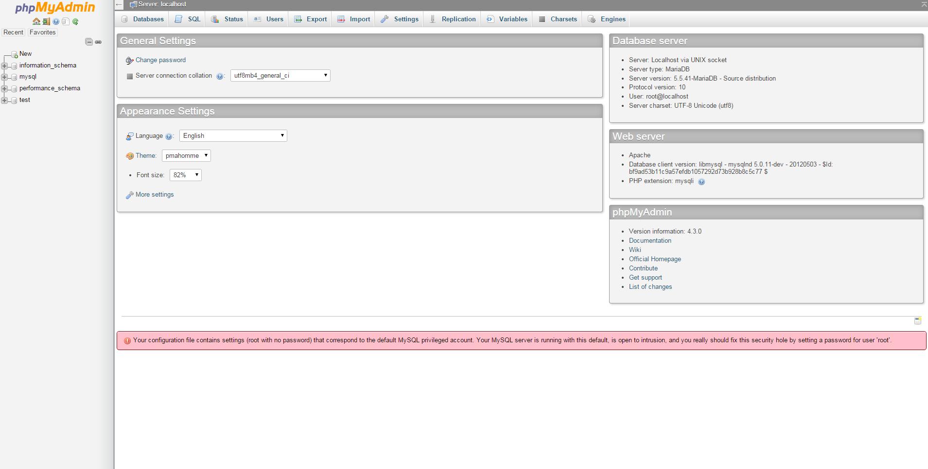 Verwalten Von Mysqlmariadb Datenbanken Mit Ihrem Synology Nas Mit