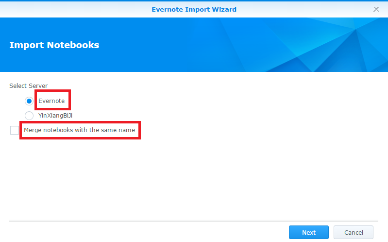 How to migrate Evernote notebooks to Note Station | Synology