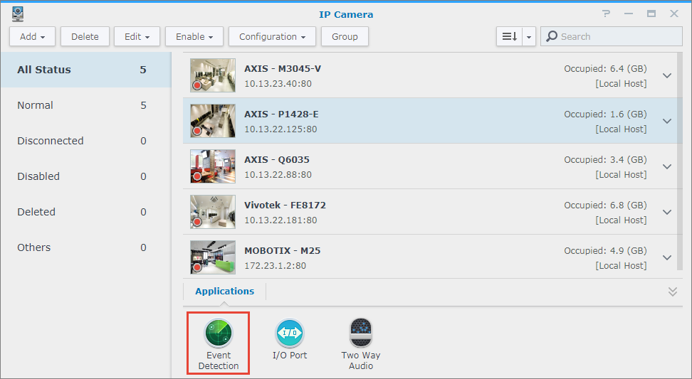 How to use Axis Camera Application Platform (ACAP) in Surveillance