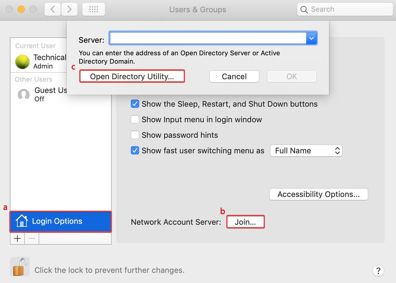 How to join Mac/Linux client computers to LDAP Server