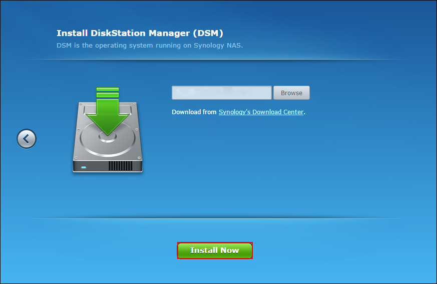 Synology DS110+ DSM Drivers Download