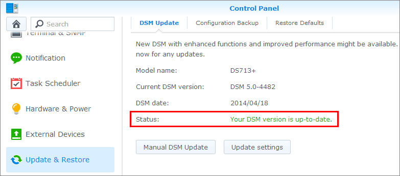 how to change volume on synology