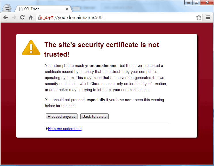 How to enable HTTPS and create a certificate signing request