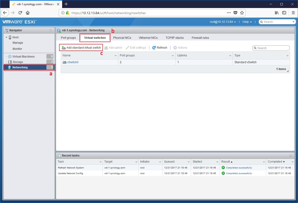 Cómo configurar Synology NAS como datastore del servidor