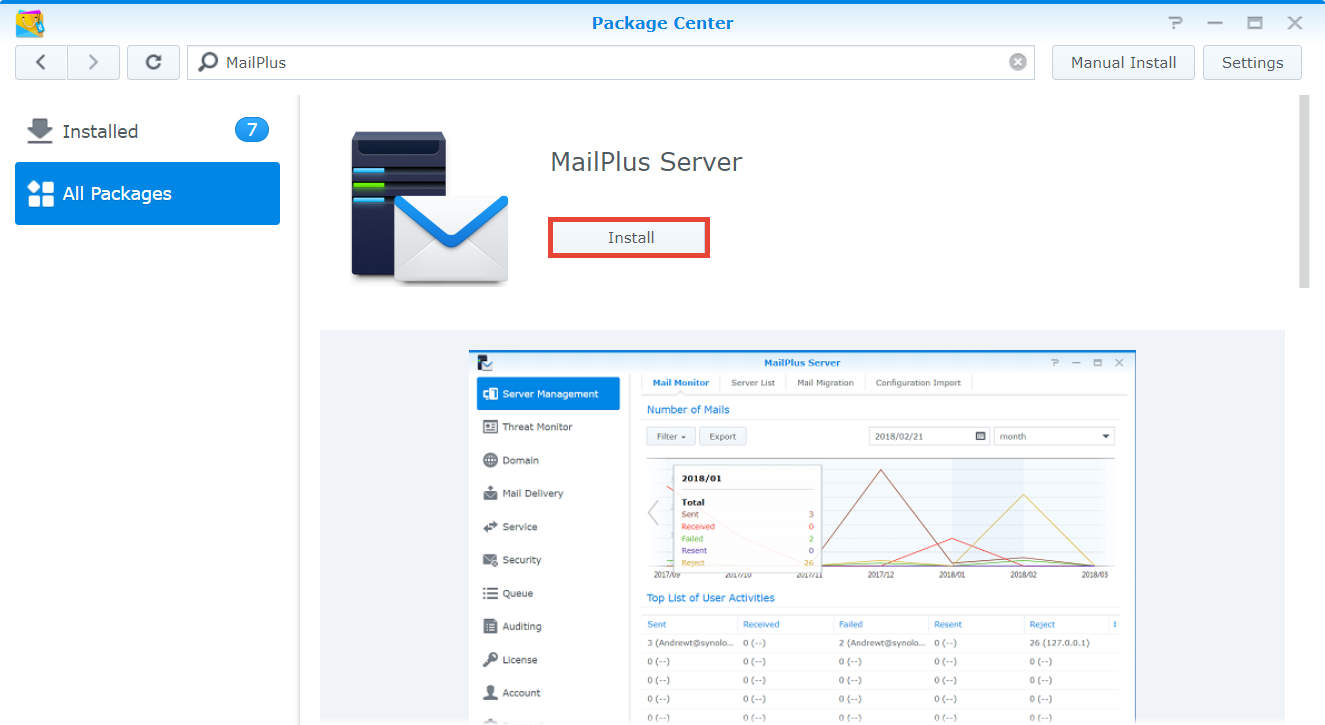 How to set up MailPlus Server on your Synology NAS