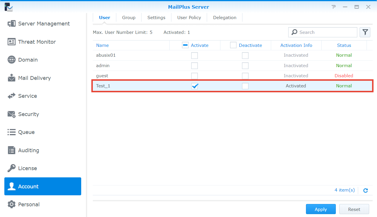 newsgroups synology