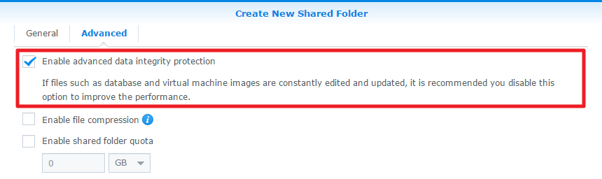 How do I enable file self-healing on DSM? | Synology Inc