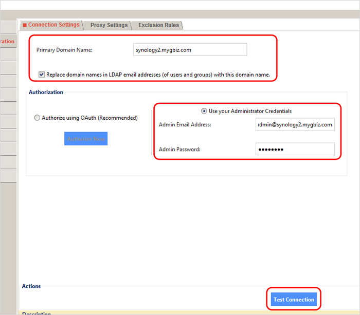 How to sync LDAP data on Synology NAS to Google Apps with Google