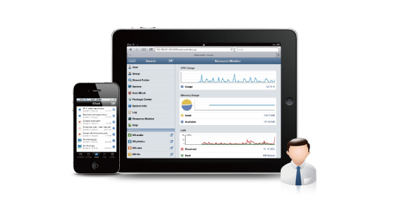 How to access and manage your Synology NAS using a mobile