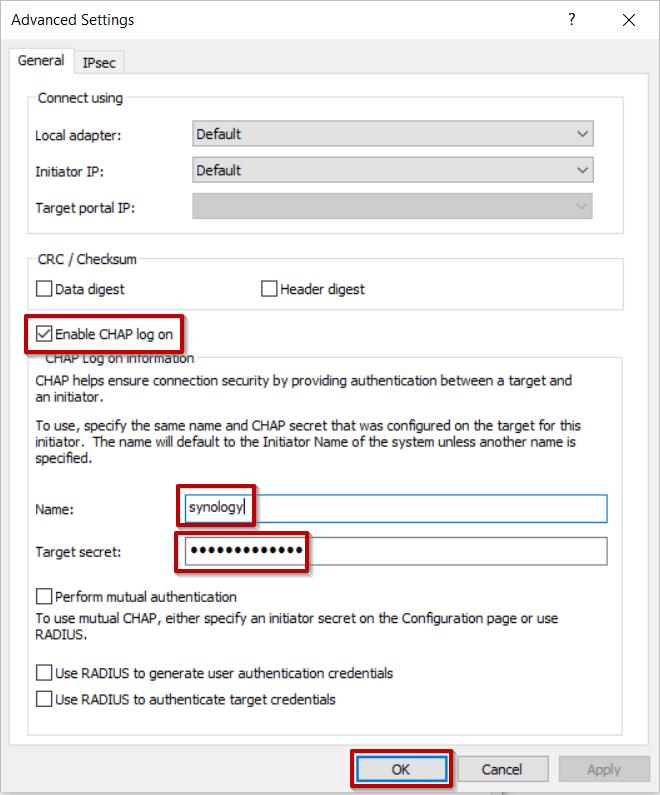 Comment utiliser des iSCSI Targets sur un Windows Server