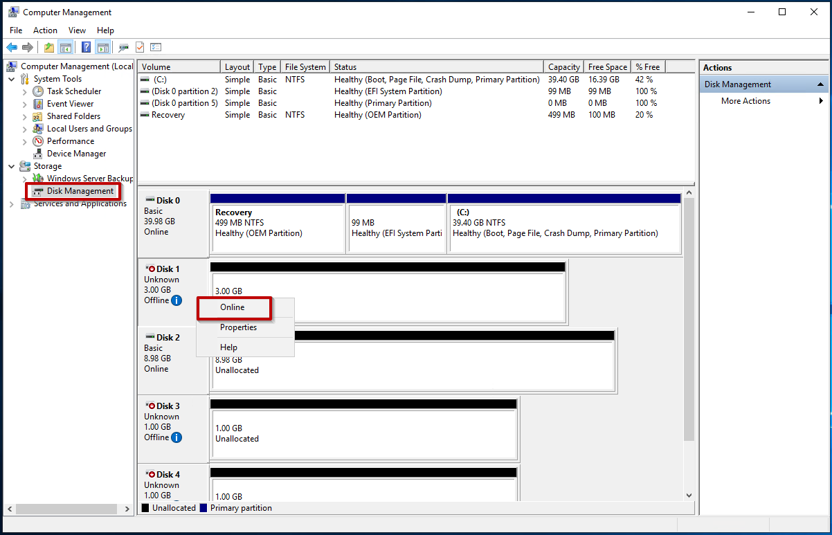 How to use iSCSI Targets on a Windows Server | Synology Inc