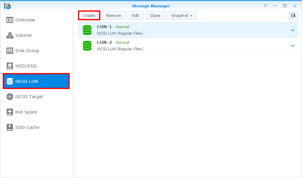 How to use the iSCSI Target service on Synology NAS