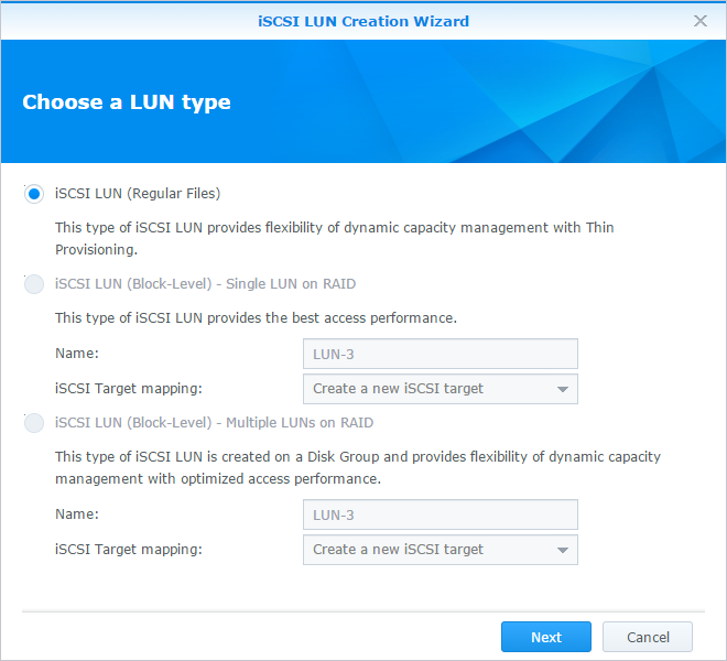 How to use the iSCSI Target service on Synology NAS | Synology Inc.