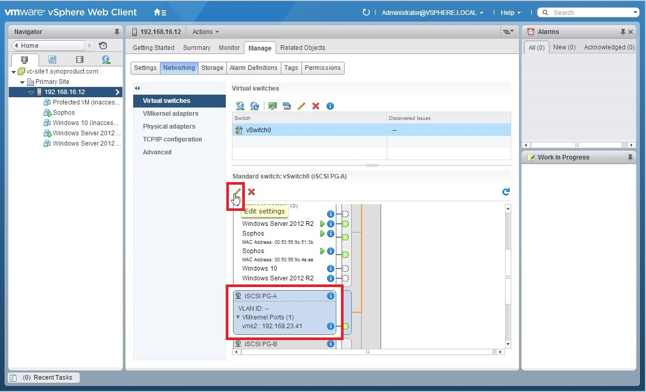 How to Use Port Binding to Configure Multipathing on VMware