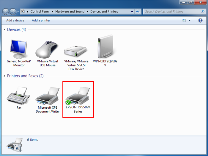 How to set up network printers shared from Synology NAS on