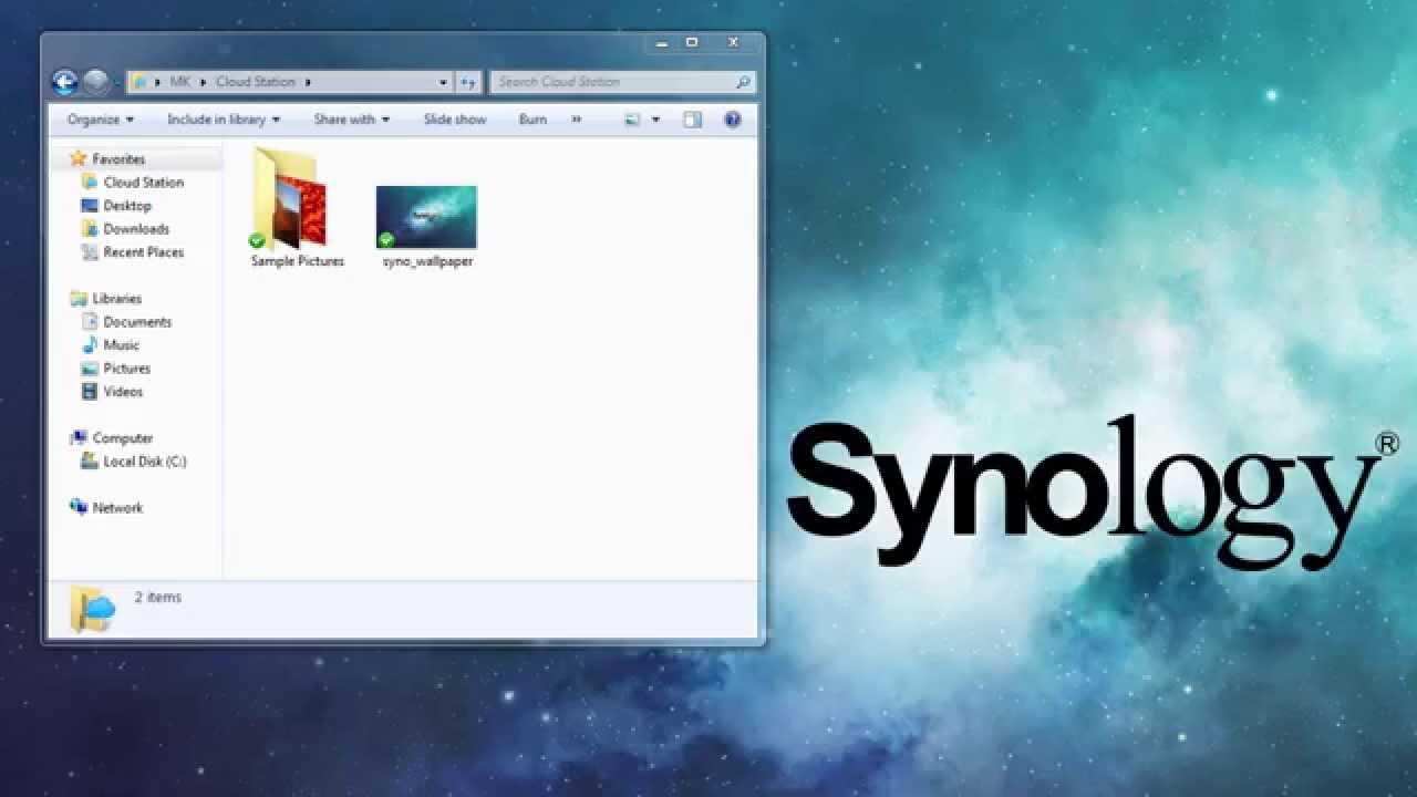 how to set up disk management for synology nas