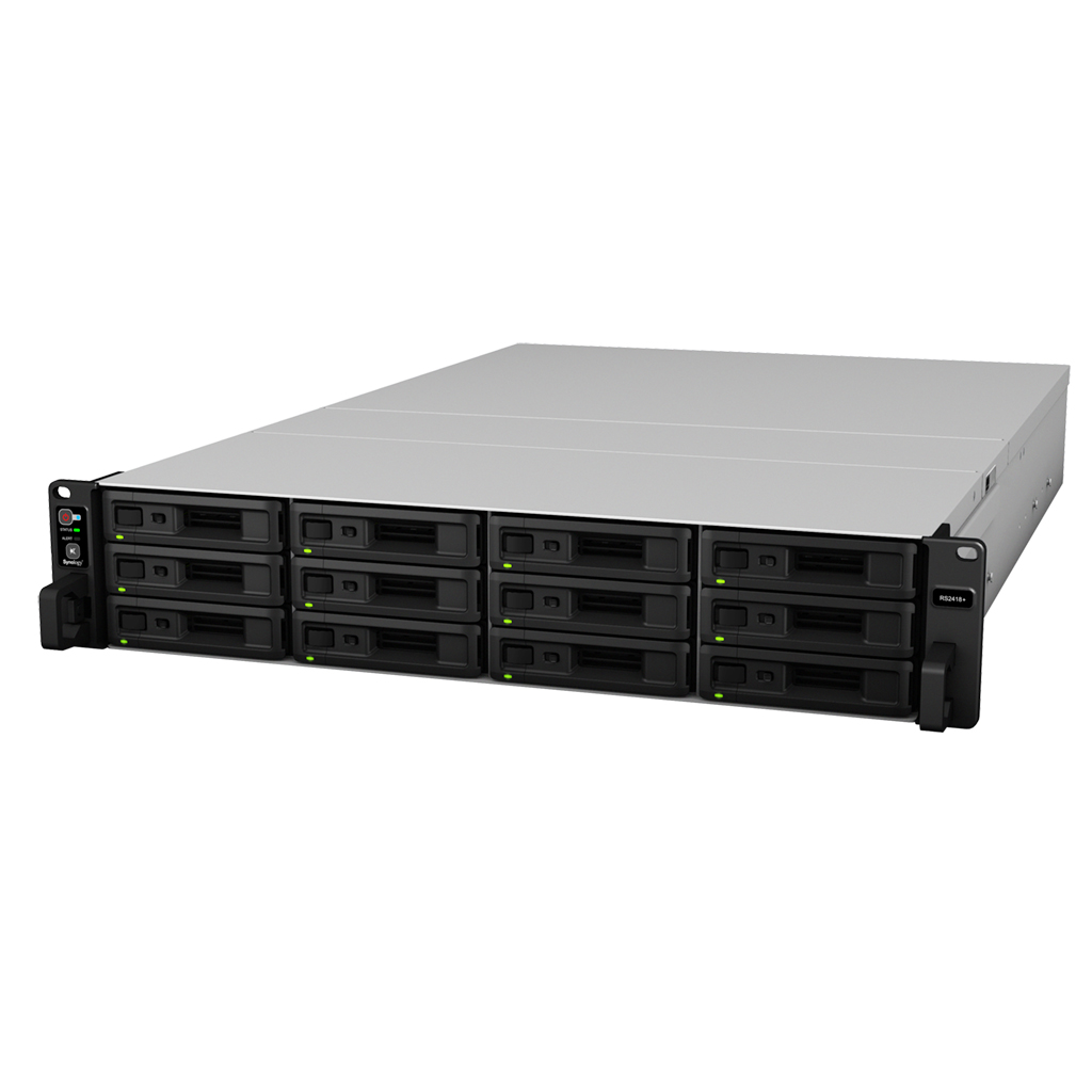 Synology RackStation RS2418+/RS2418RP