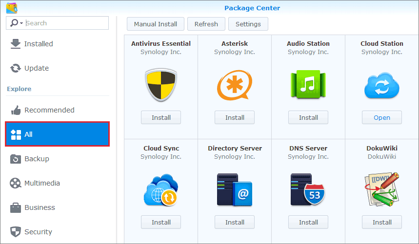 Service Amp Support Synology Network Attached Storage Nas