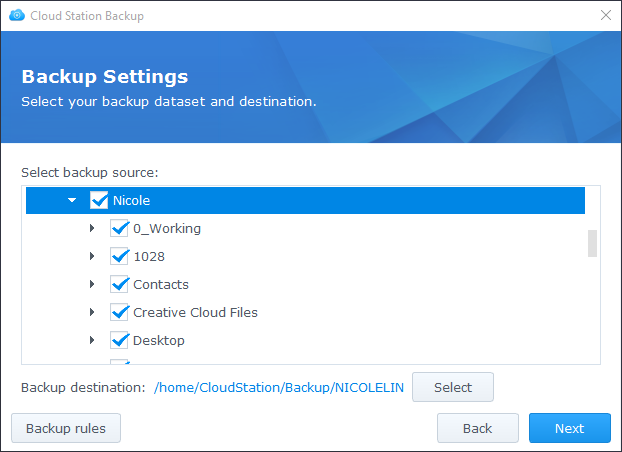 Back up the data on my PC/Mac using Cloud Station | Synology Inc