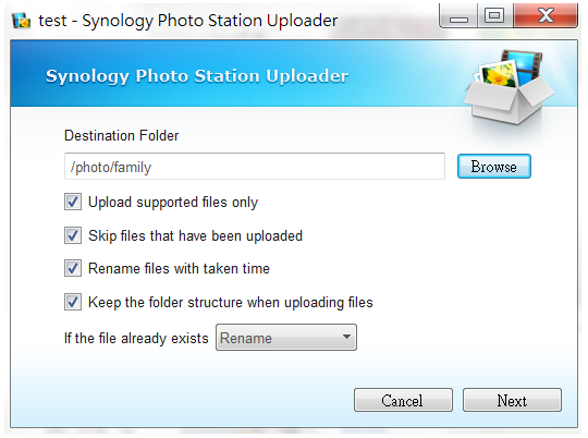 Create albums to manage and browse photos with Photo Staion