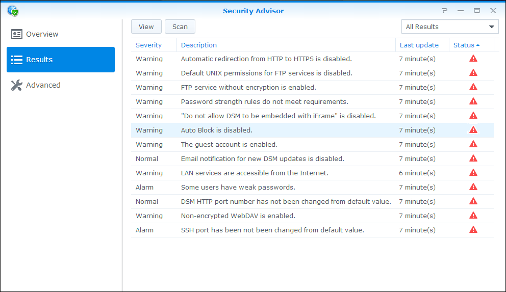 Secure your NAS | Synology Inc