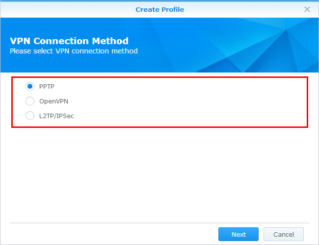 Connect to VPN - Synology DSM Help | Synology Inc