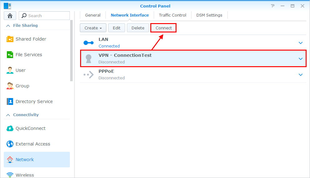 Install OpenVPN on a Synology NAS