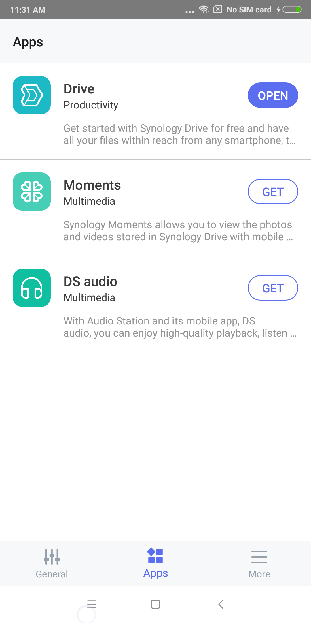 Android DS finder | Synology Inc