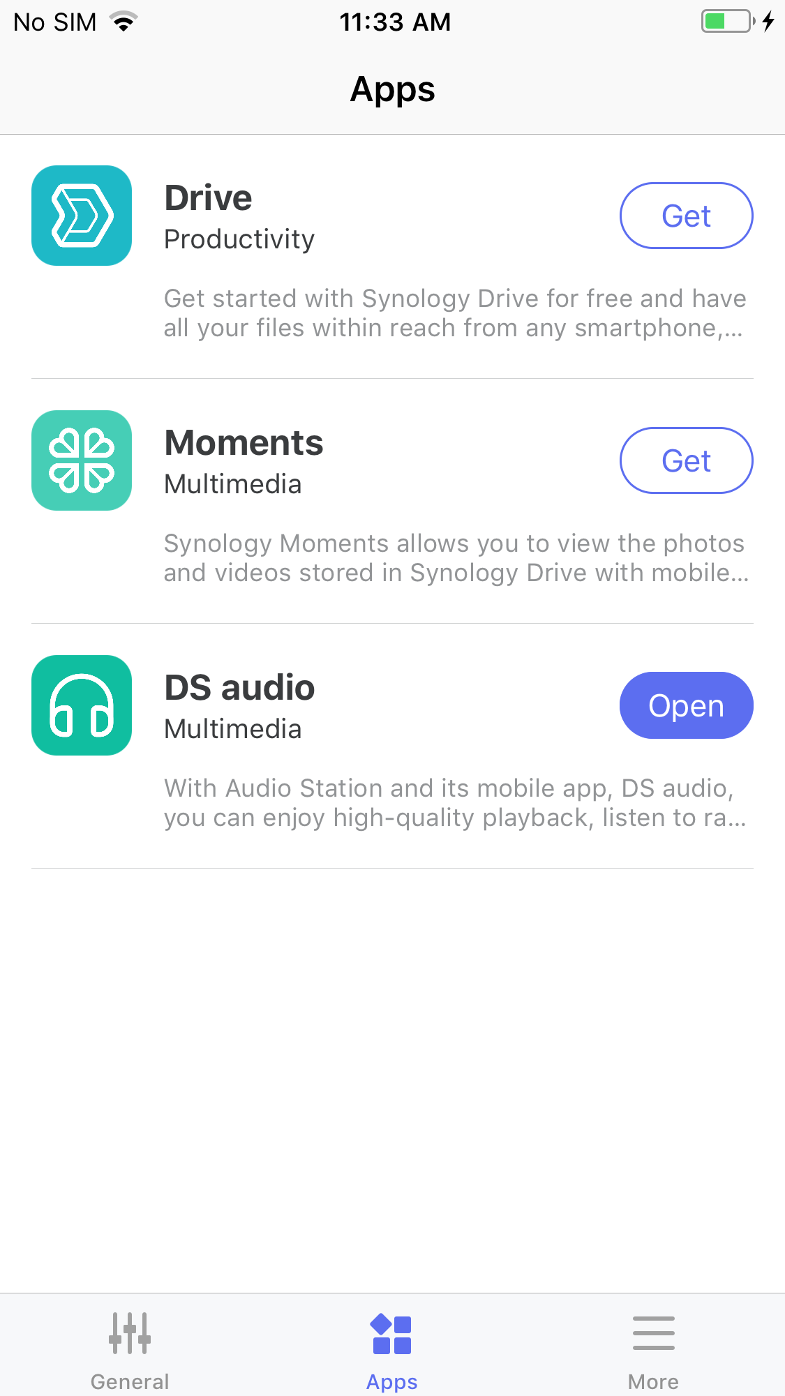 iPhone DS finder | Synology Inc